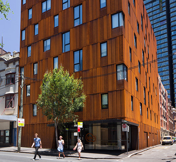 Student Accomodation at Iglu Central, Chippendale, Sydney.
