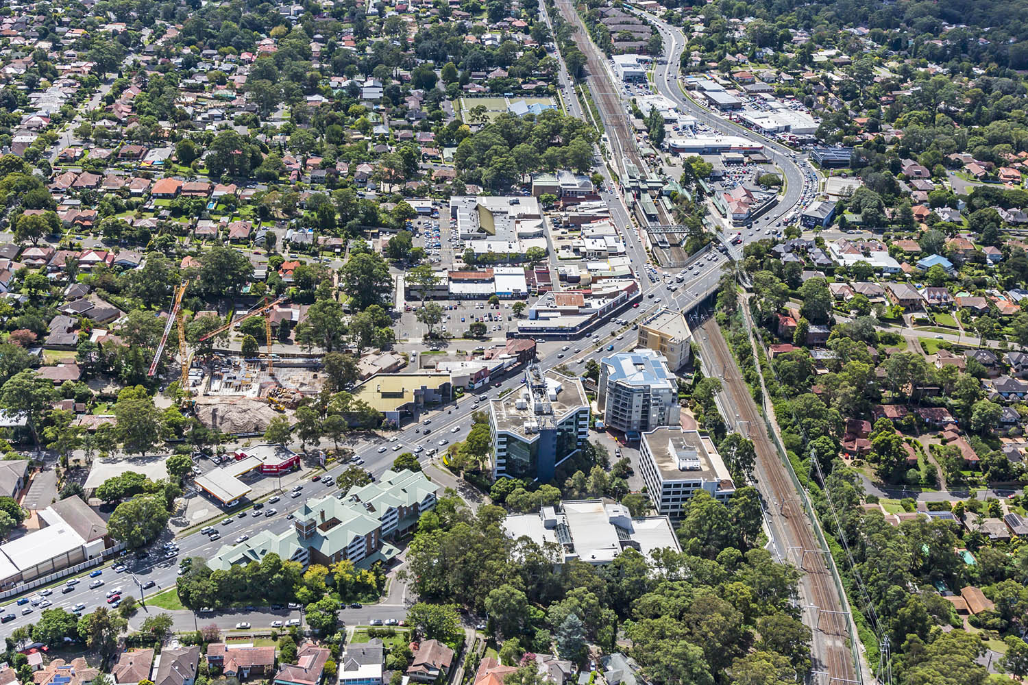 The Pennant Hills building has a net lettable area of 7,124sqm, EG Funds hope it will benefit from the $2 billion NorthConnex infrastructure project.