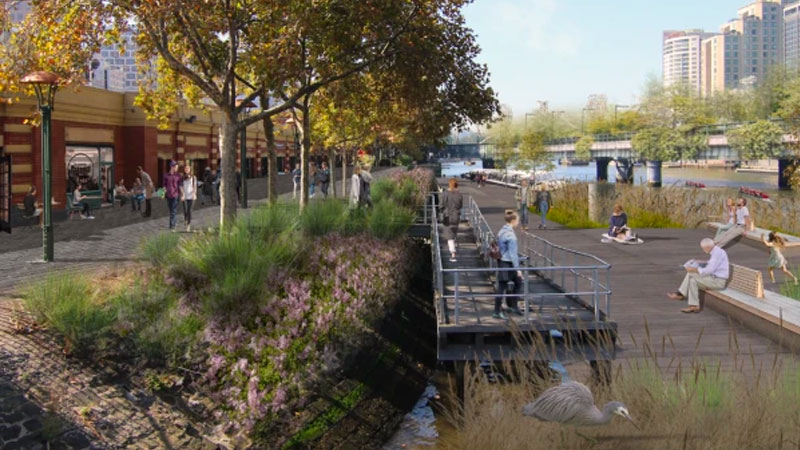 ▲ Several proposals have been put forward at the Yarra River Business Association Big Ideas Forum in order to revamp the iconic waterway. Image: Supplied