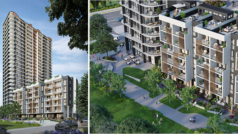 ▲ Meriton's plans for 112 Talavera Road Macquarie Park
