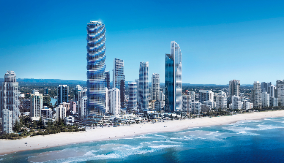 "The $1.2 billion ""Spirit"" tower will rise 89-storeys above Surfers Paradise."