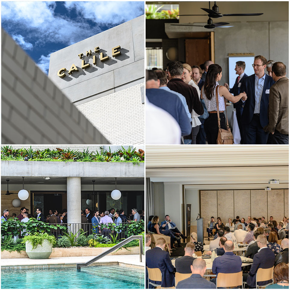 ▲ The Urban Developer's Brisbane Residential Development Summit at the Calile Hotel in Fortitude Valley. Image: The Urban Developer