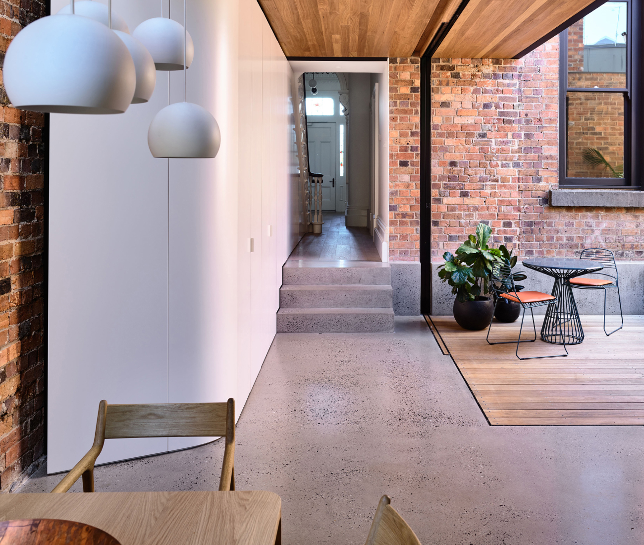Matt Gibson Architecture + Design for North Melbourne Terrace, Vic