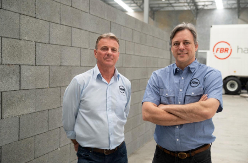 """Humans have been laying bricks, in the same way, the past 6000 years. Until now."" FBR's Mike Pivac and Mark Pivac."