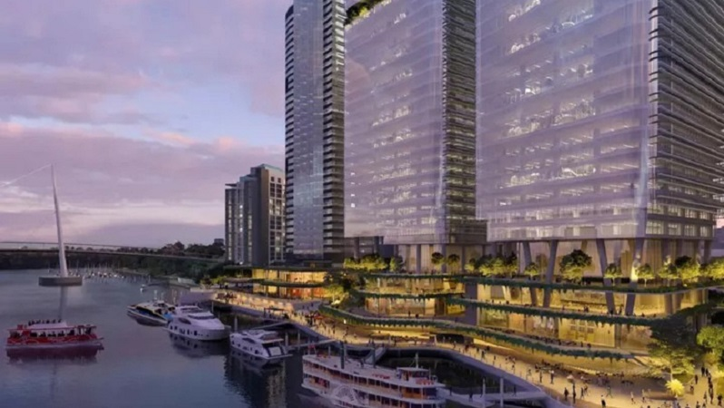 Eagle Street Pier is another big project for Brisbane.