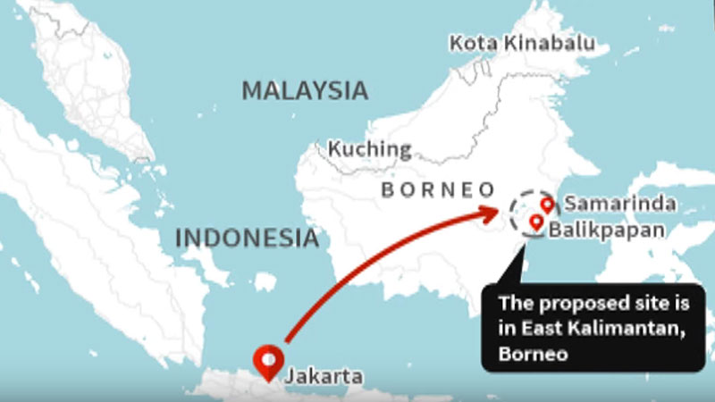 10 million people live on Borneo, the earth's third-largest island.
