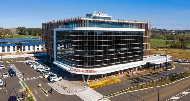 The recently developed Bloomfield Medical Centre in Orange is in the unlisted Centuria Healthcare Property Fund.