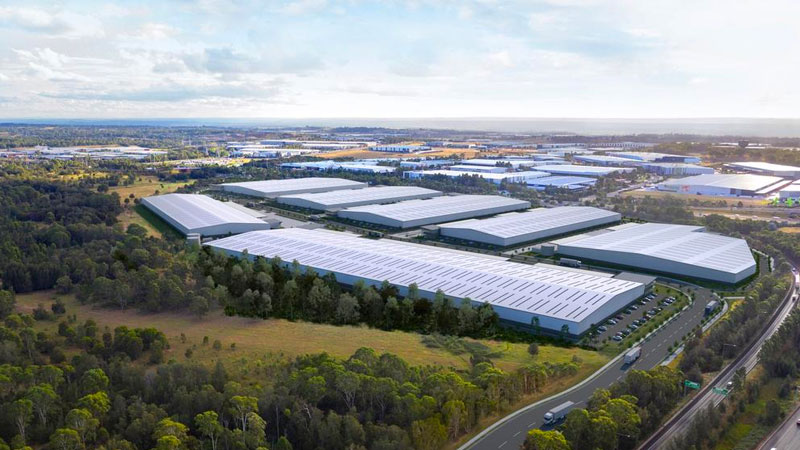 ▲ Charter Hall's  industrial business hub redevelopment in the Western Sydney Parklands will feature 157,600sq m of industrial and light industrial floorspace and 7,900sq m of ancillary office.
