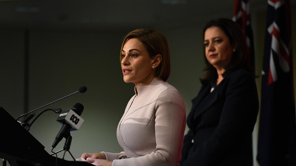 Treasurer Jackie Trad highlighted the wave of interstate migration, primarily from NSW, in Deloitte's report.