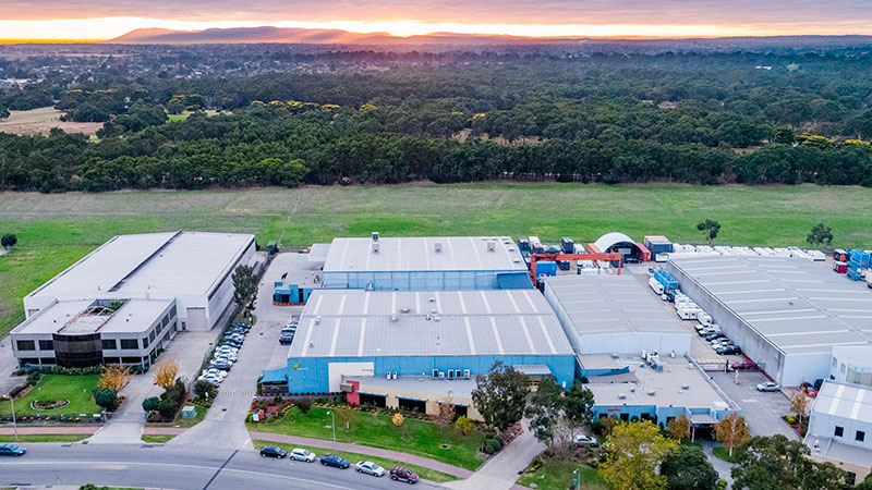 The two Flavour Maker warehouses at 91-97 Woodlands Drive and 223 Governor Road in Braeside could fetch a combined $30 million.