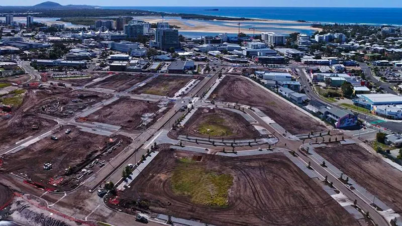 ▲ Set on about 50 hectares, the new CBD is expected to create 15,000 permanent jobs on the Sunshine Coast as well as inject billions of dollars into the economy over the next two decades.