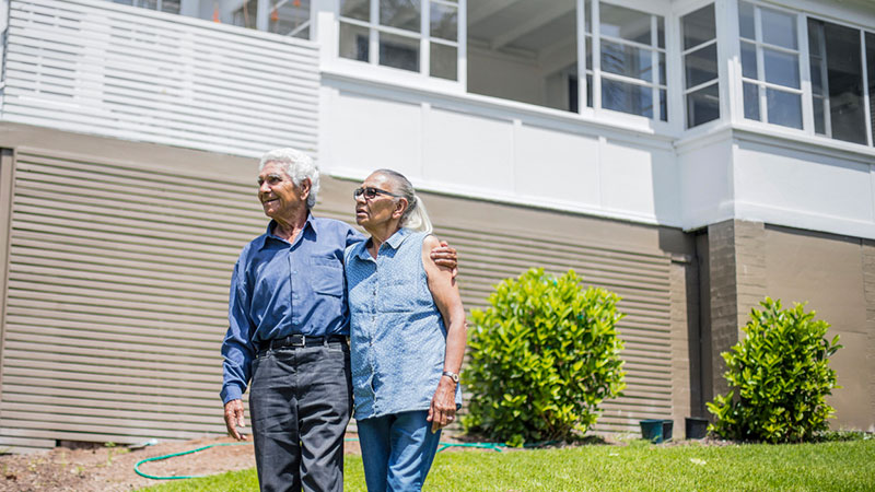 ▲ Property researcher Braam Lowies says older people on the brink of retirement represent one of the most vulnerable groups affected by the COVID-19 pandemic. Australia's property market.