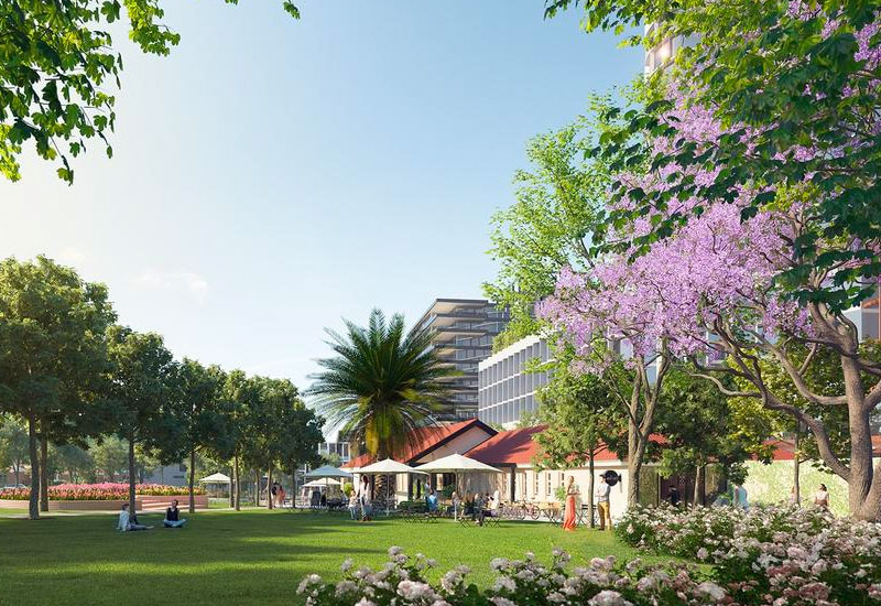 Moonee valley park development Melbourne