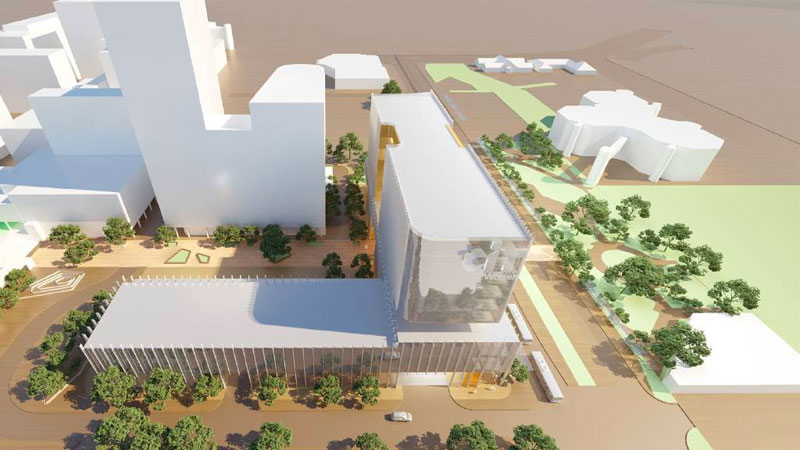 CIT Campus - Woden to combine education, transport and business