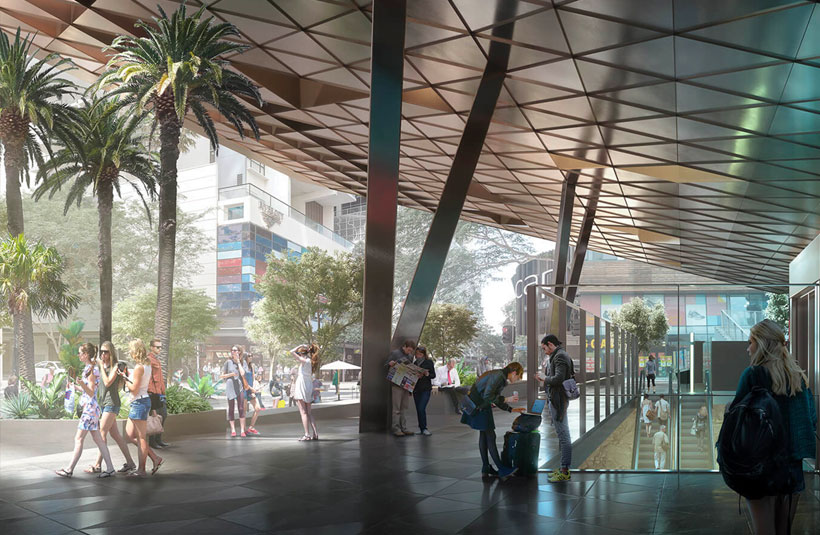 Cross River Rail development project construction Brisbane