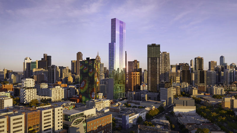 Melbourne major development project Swanston Central by Hengyi