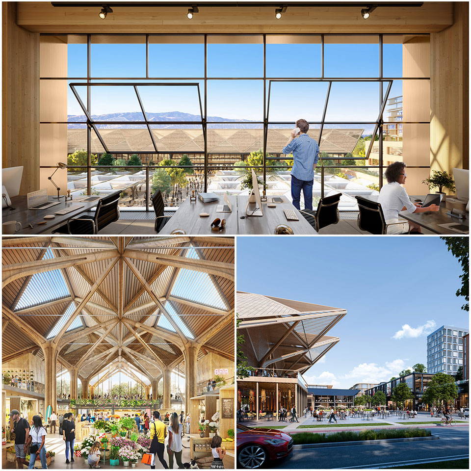 ▲ The design also looks to utilise sustainable building materials with the ambition to create a model of urbanism that exceeds the present green building guidelines. Image: Foster + Partners