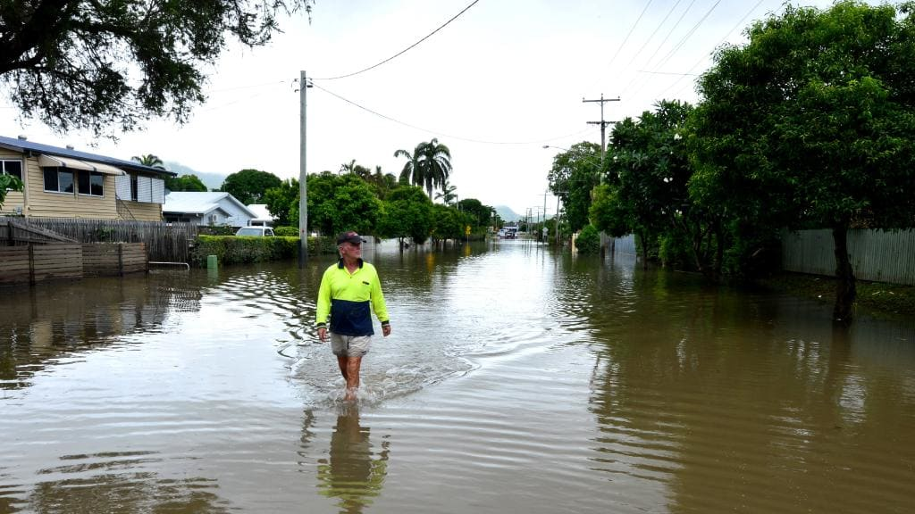 The impacts of flooding in North Queensland were felt most severely at Idalia, where properties had been built mostly during the past two decades, and which were considered to be effectively free of the risk of flooding.