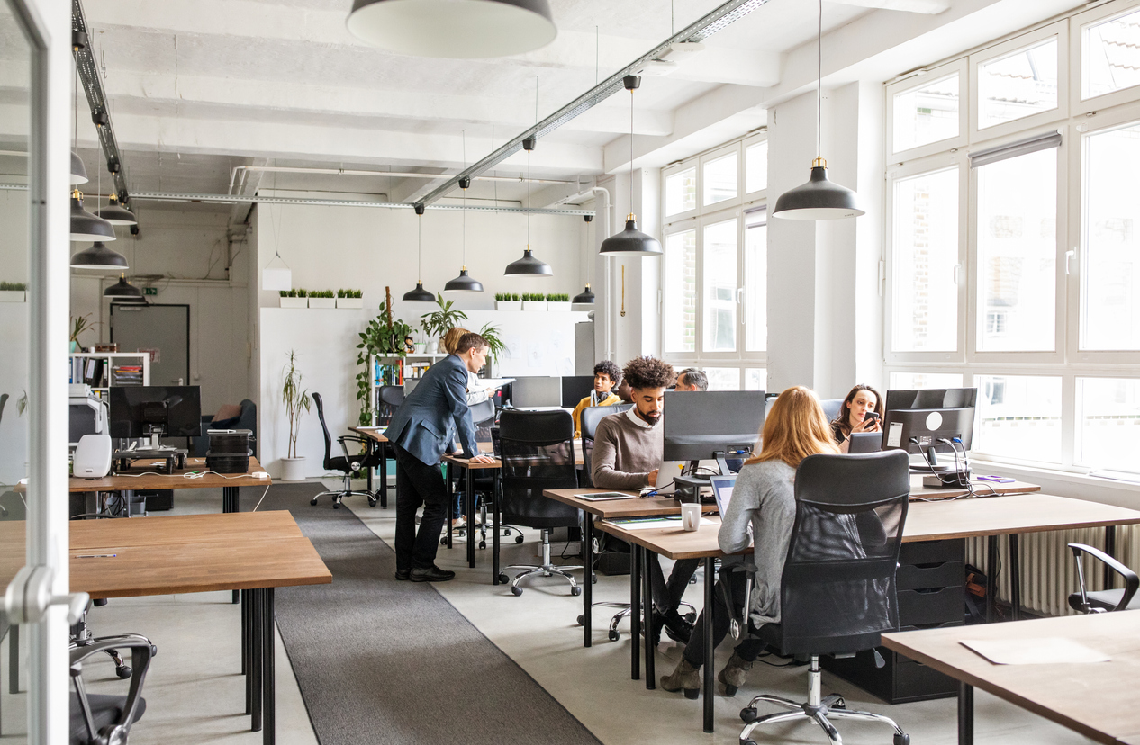 Commercial spaces cater for the human need for connection, and create work environments that allow people to come together and interact, and technology can be used to facilitate it.