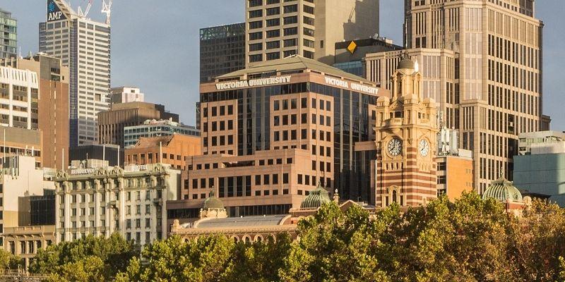 ▲ Melbourne property for sale. Melbourne Victoria University City campus. South Melbourne development site.
