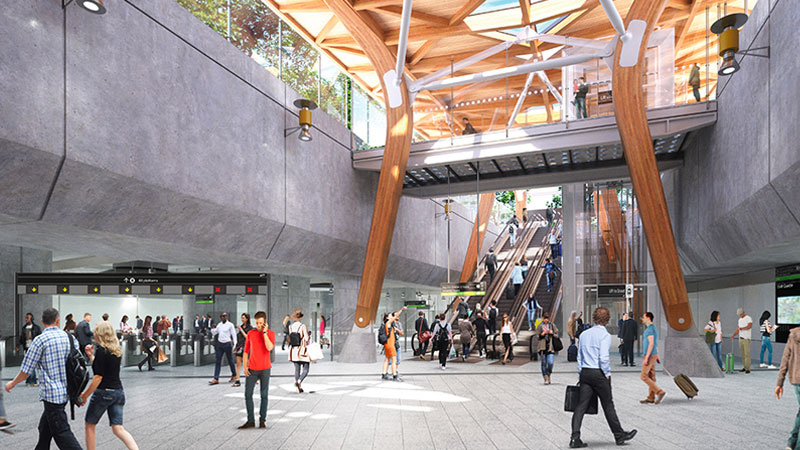 Melbourne major development projects Melbourne Metro by Cross Yarra Partnership