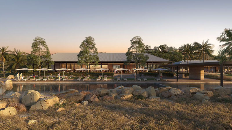▲  Plans for the Exmouth site: Kerry Hill Architects