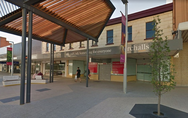 City of Launceston intend on redeveloping the Birchalls building, on Brisbane Street Mall, into a food and retail plaza, including office space, public amenities and parenting facilities.