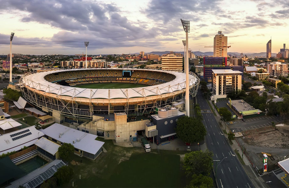 "▲ The government said it will consider the ""Gabba"" stadium to hold the opening ceremony, while an upgraded QEII could hold the athletics."
