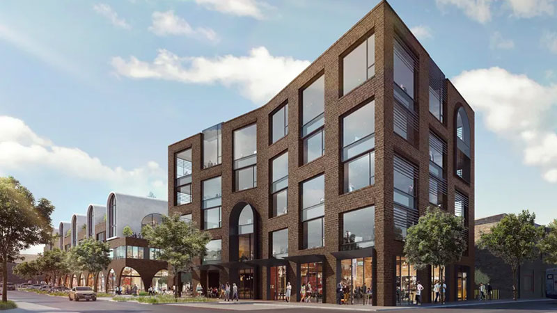 "▲The SECPP approved stage one of the development in April and held-off their decision for stage two, citing the ""design quality"" and appearance of the 5-storey building. Image: Turner and McGregor Coxall"
