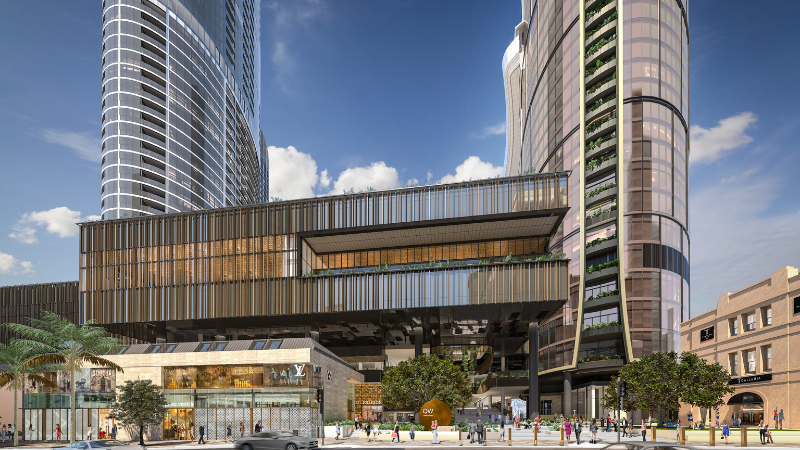 ▲(mid) Queen's Wharf will a shopping haven with the inclusion of luxury brands group DFS joining the precinct. Image: Destination Brisbane Consortium