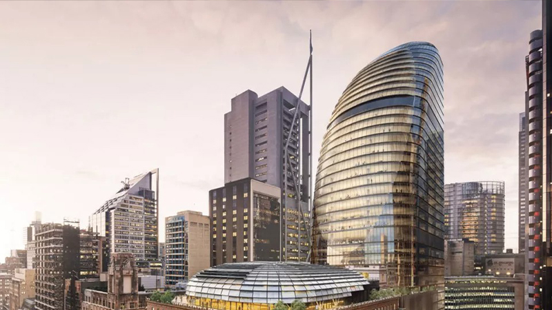 ▲ Macquarie has said it will continue to develop 39 Martin Street, despite the failed ISPT transaction.