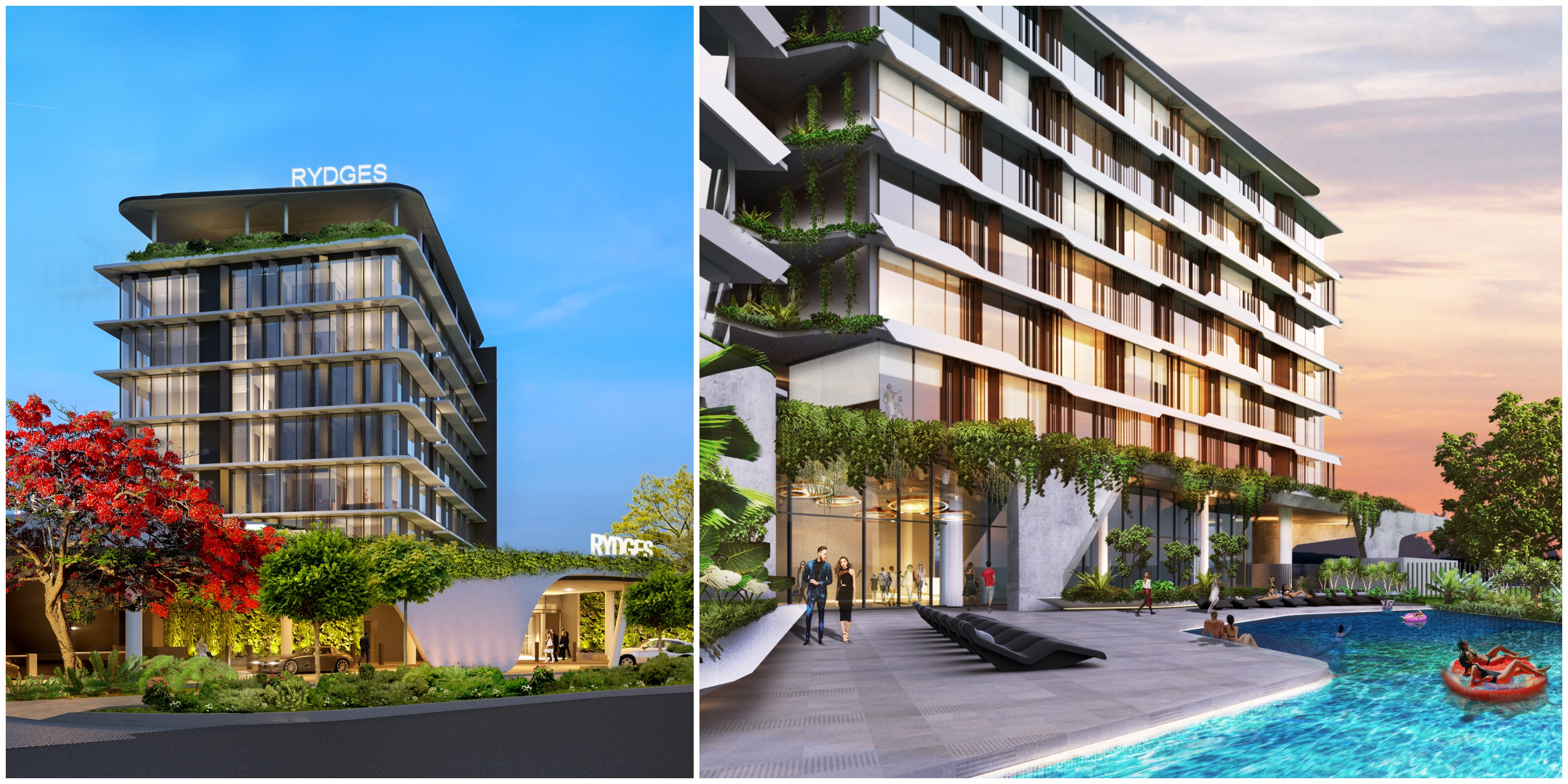 The hotel development, which will have views over Kirra beach and the airport runway, will create 90 construction jobs and more than 60 jobs post-construction.