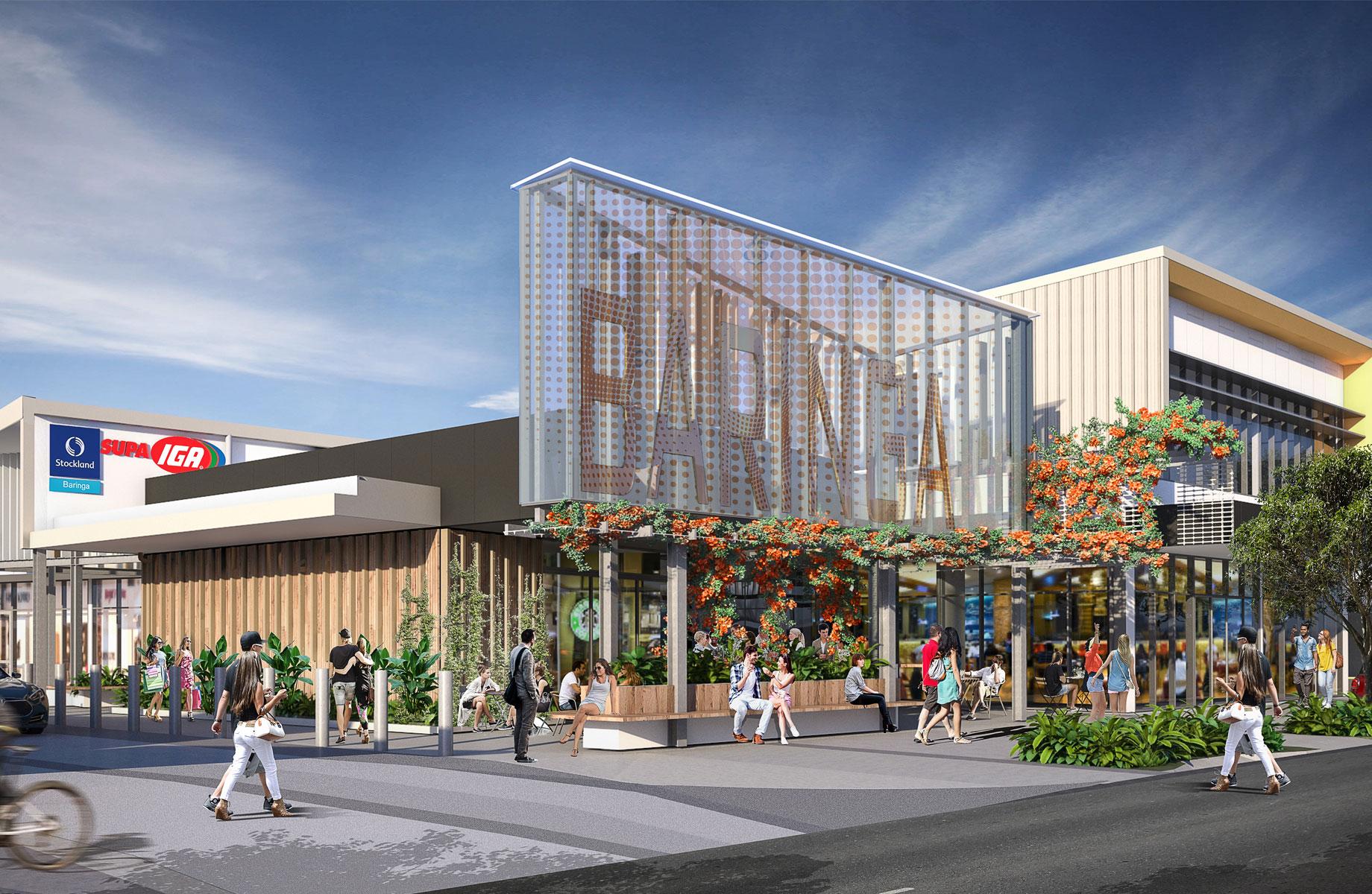 Fwd: Stockland starts construction on $33 million centre on Sunshine Coast