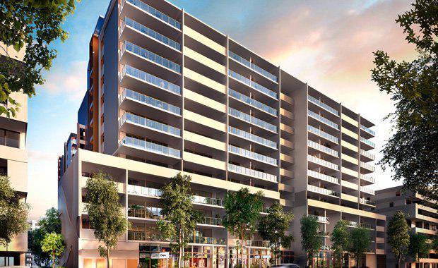 Longton Property Group's Avantra residential development under construction in Mascot.