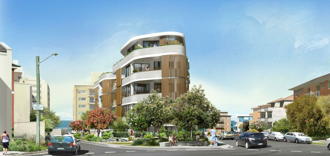 This premium location on the South Cronulla peninsula offers a Luxury Residential Development Site with 18 apartments that have already been DA approved.