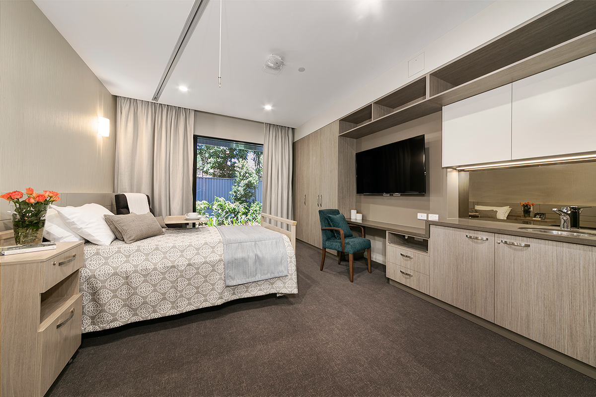 Tricare Sunnybank, Brisbane, interior design for 150 bed RACF.