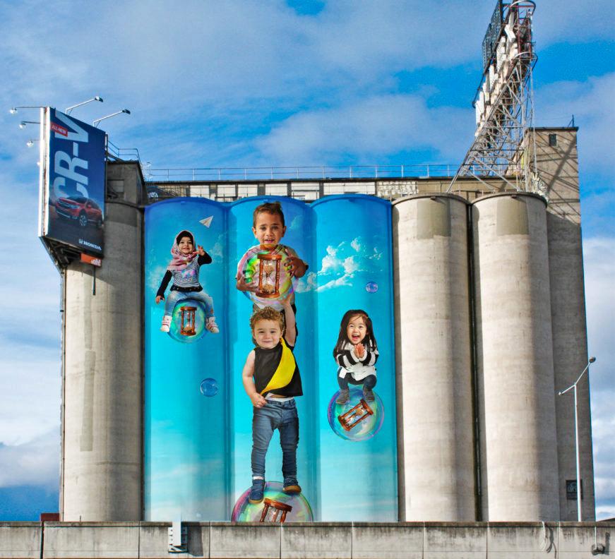 The Nylex silos