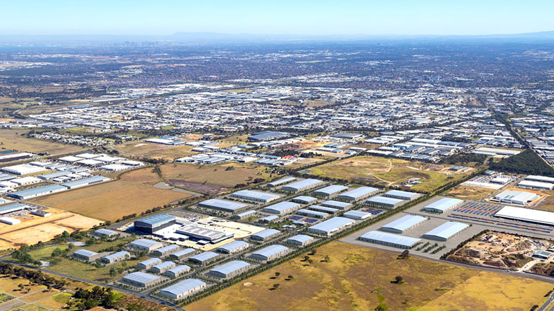 ▲ Salta's plans for Nexus Industrial Estate, a 177 hectare site in Dandenong South.