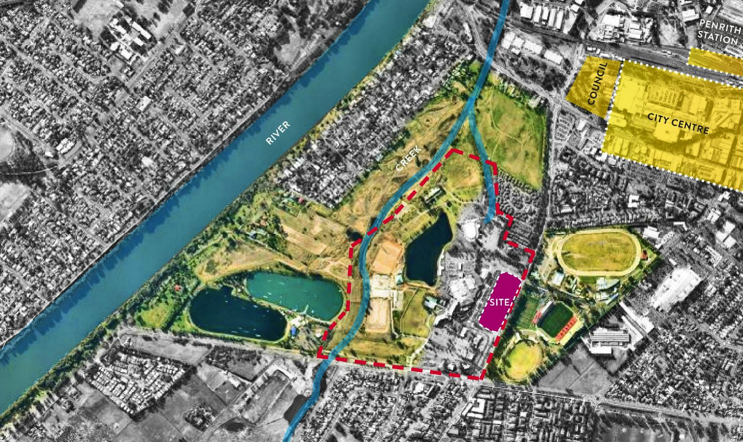 Master Plan for the Community and Conference Centre of the new Penrith Panthers Proposal