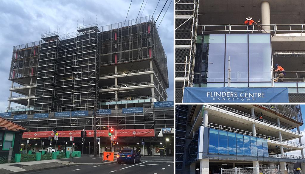 Flinders Centre construction