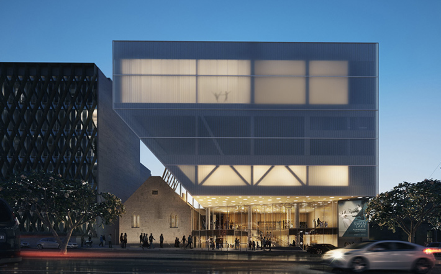 The Geelong Performing Arts Centre (GPAC) by Hassell Design Team