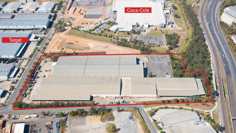 ▲ An 11.26ha industrial site at Richlands changed hands for $85 million. Image: Knight Frank