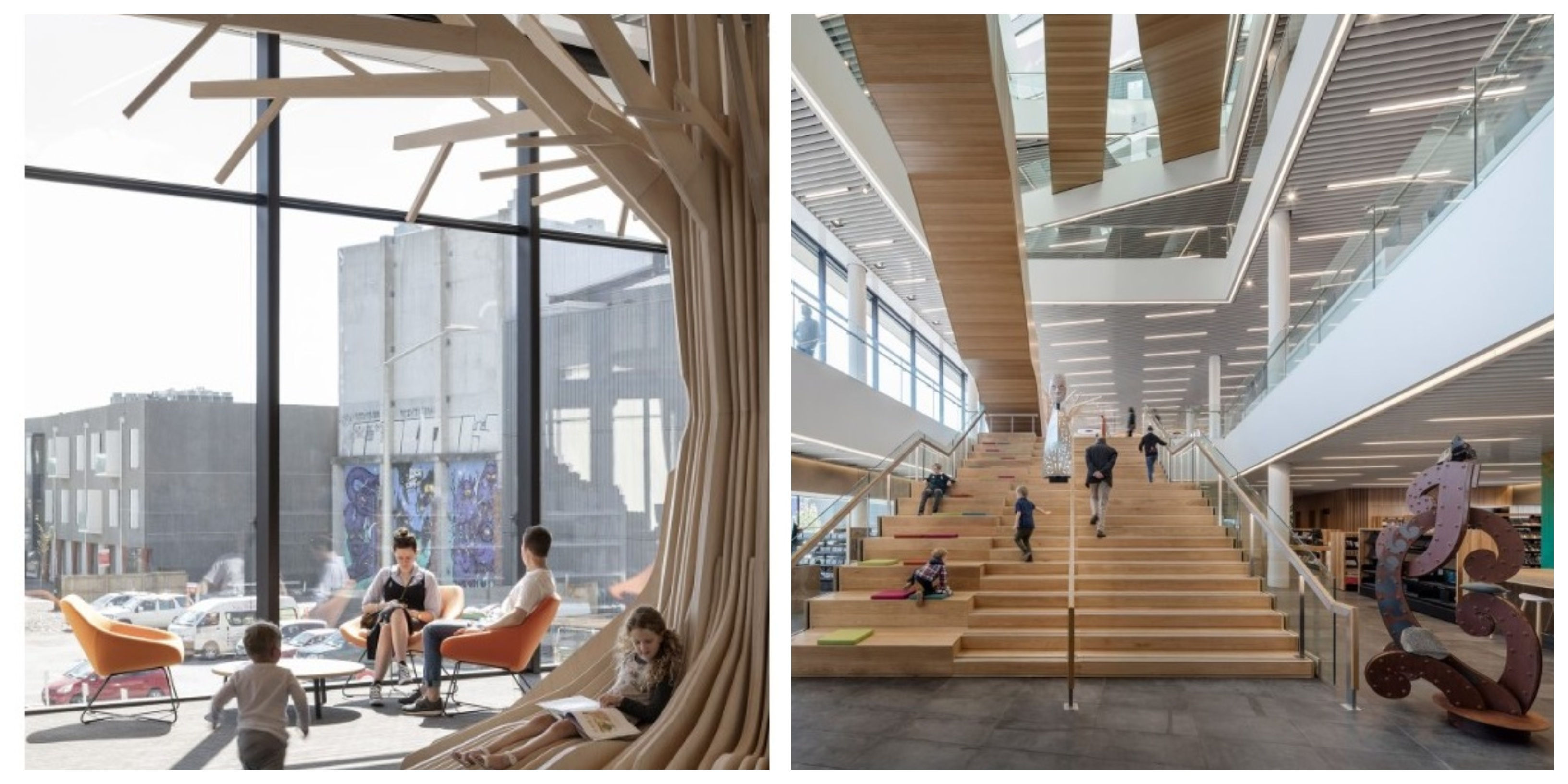 Tūranga is the largest public library in New Zealand's South Island.