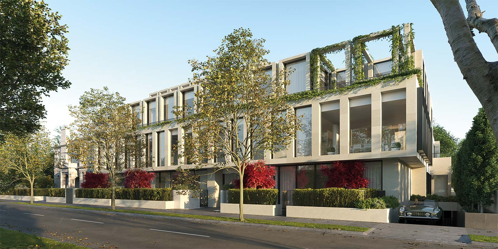 "Developer Pask Group recently moved beyond greenfield development into medium-density and ""boutique"" apartment projects. Image: The Pask Group's recent development in South Yarra, the ""Millswyn"" is due to be completed this year."