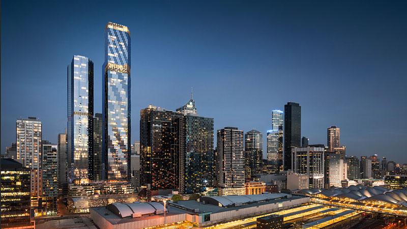 Melbourne major development projects - West Side Place by Far East Consortium