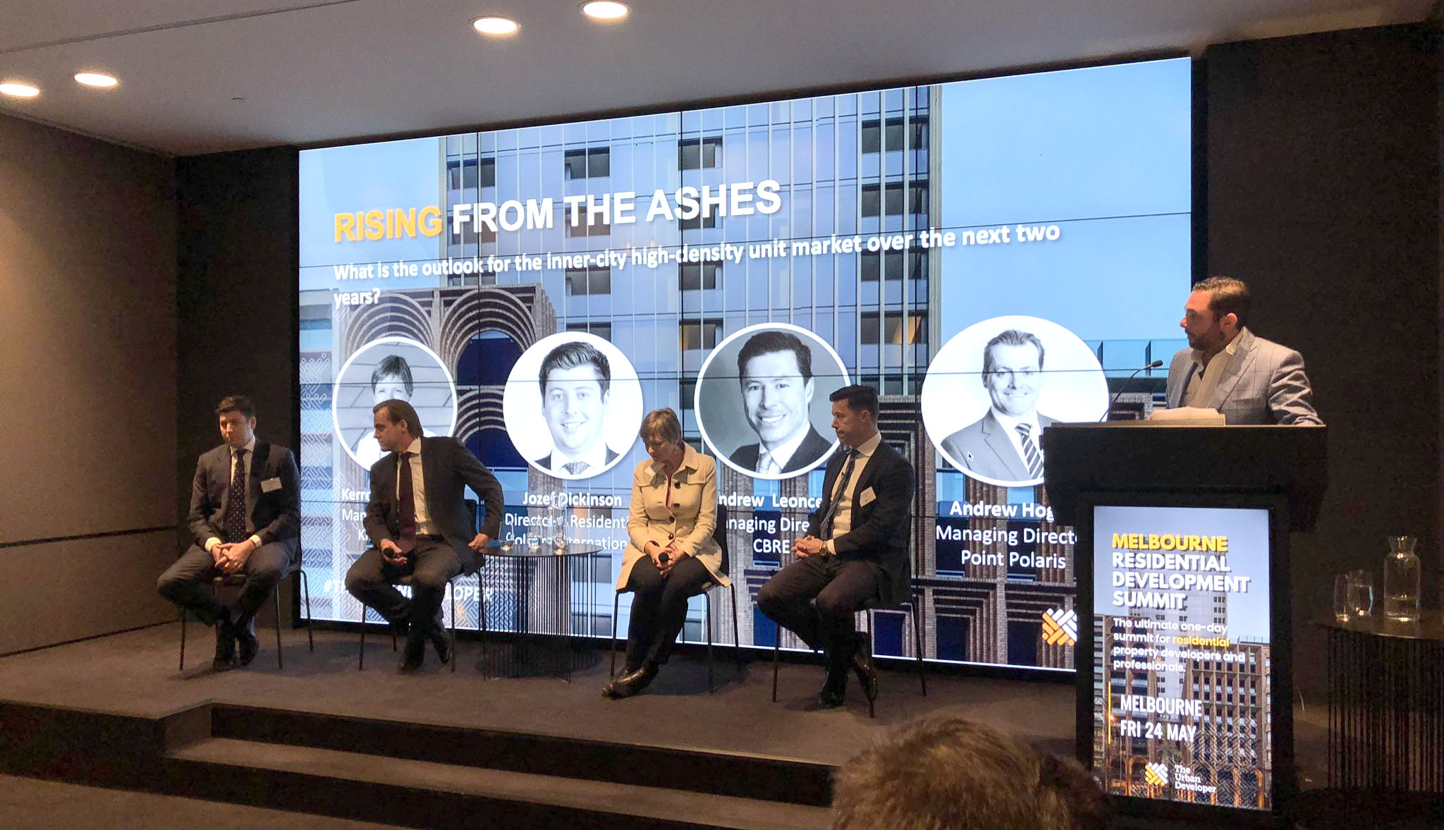 ▲ Panelists agreed that developers vying to stay ahead of the curve are now heavily consumer-focused, repositioning their brand offerings to meet the market. Image: Colliers International