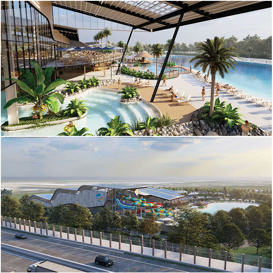 ▲ Pellicano's water park could be open in 2024, pending approval.