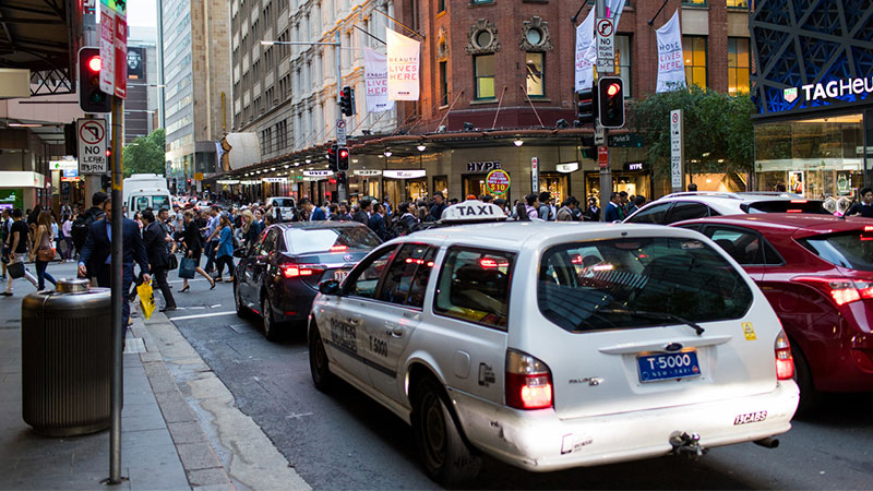 Population growth Sydney
