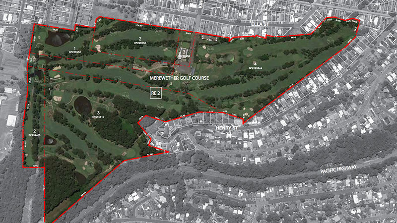 ▲  40 King Street Adamstown. Thirdi Group & Merewether Golf Club secures development approval from regional Planning Panel for its proposed $120 million seniors living village development in Newcastle.