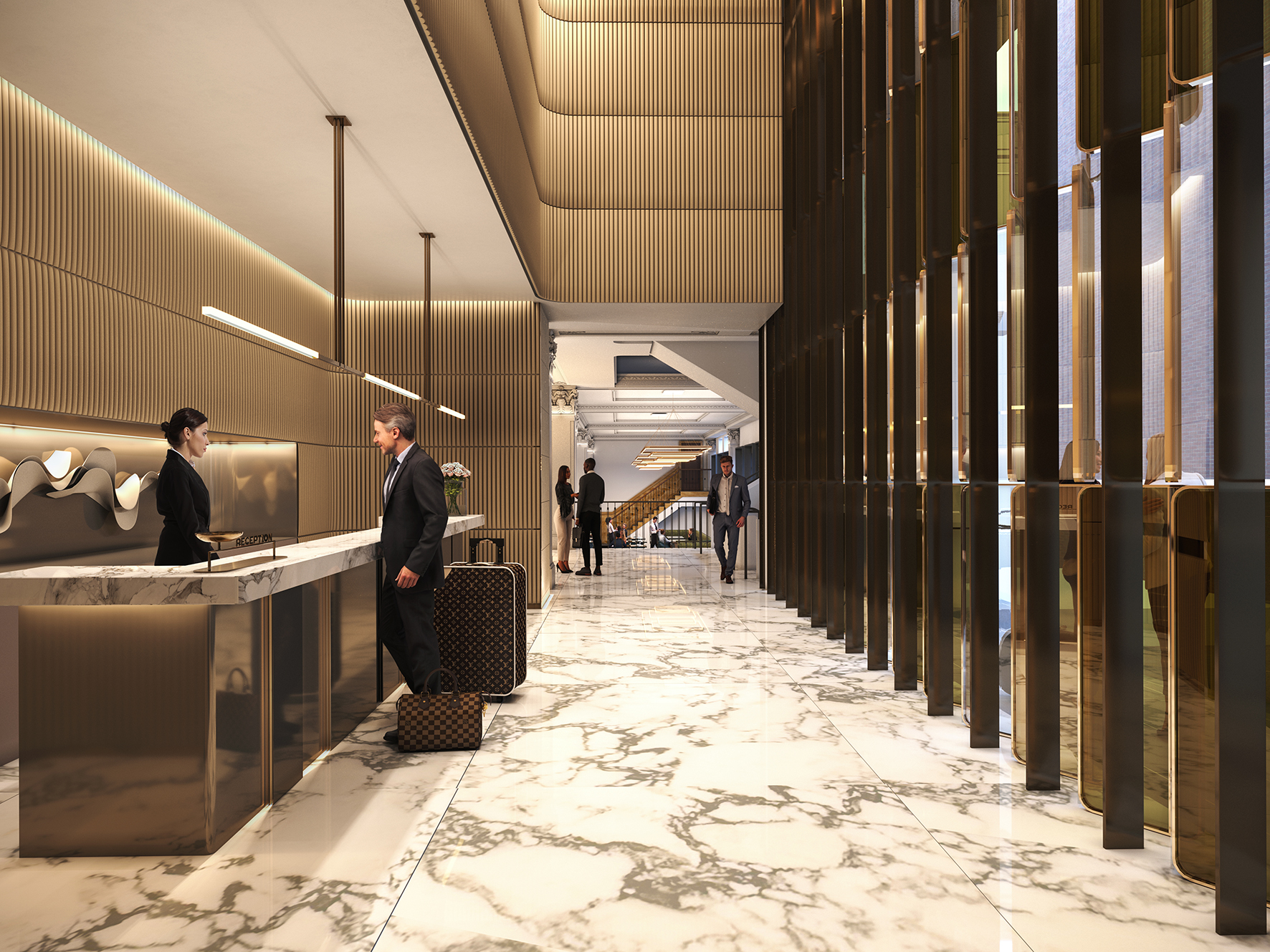Singapore tycoon Michael Kum's plans to launch the Hilton Hotel at his Bourke Street development.